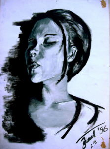 Tabea (self portrait) 1999